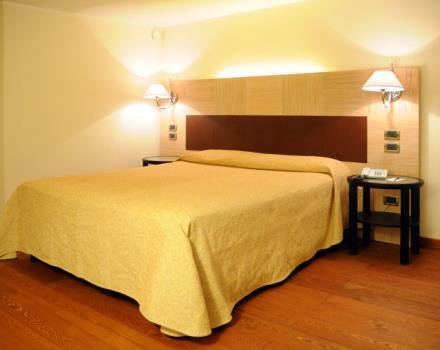 Discover the comfortable rooms at the Hotel San Giorgio in Forlì